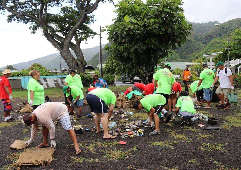 Grande opération de nettoyage samedi à Paea