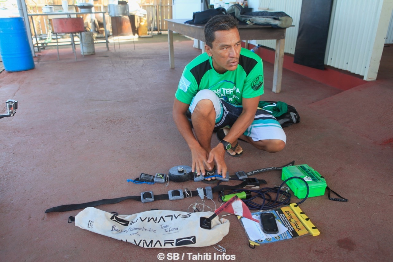Rahiti Buchin, pilier de la pêche sous-marine en Polynésie