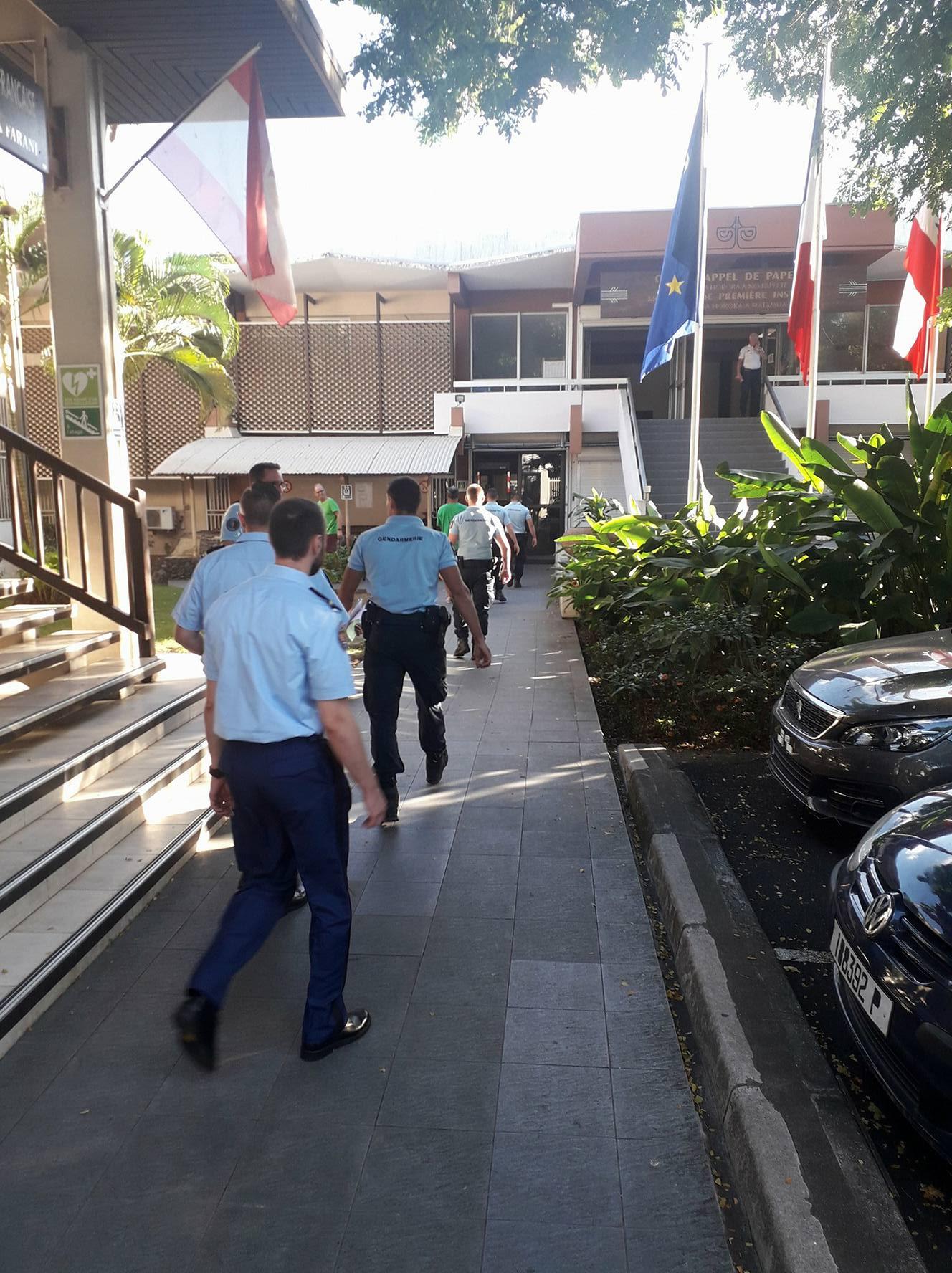Prison ferme pour avoir menacé les gendarmes de mort