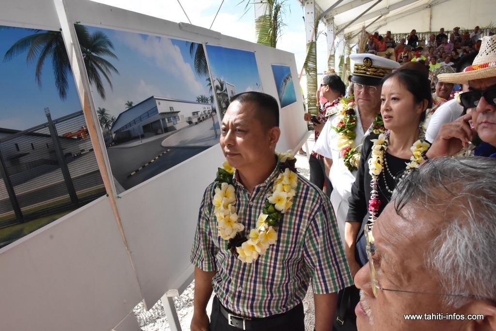 Hao fête le lancement des travaux de la ferme aquacole