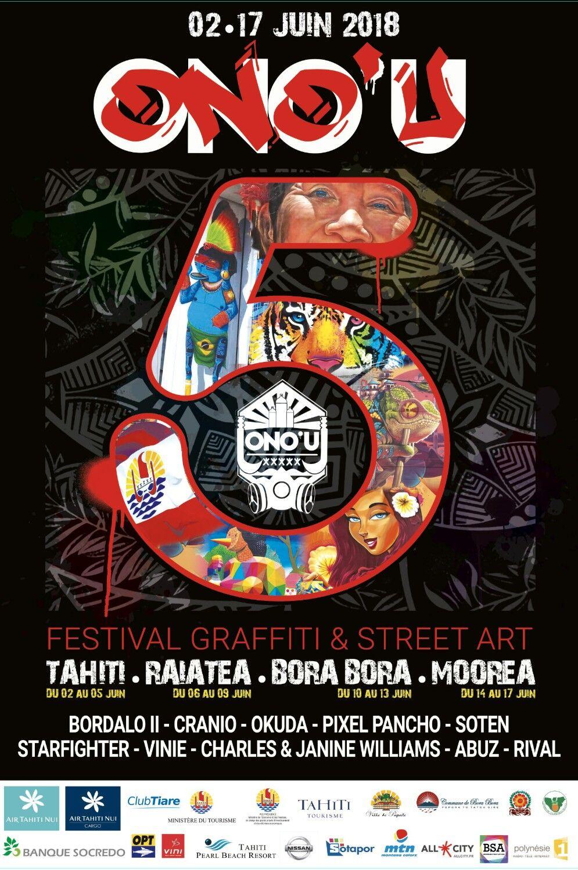 Le 5e festival Ono'u démarre ce samedi à Papeete