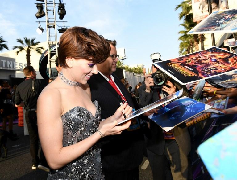 """""""Plus d'endroit où se cacher"""": Scarlett Johansson revient sur le mouvement #MeToo"""