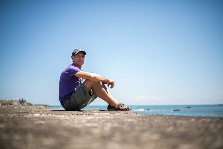 Le Pacifique à la nage: le pari fou d'un Français amoureux des océans