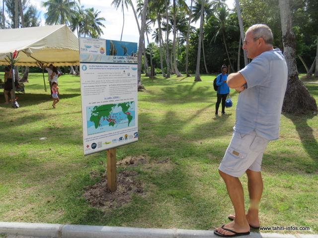 Moorea : une exposition pour mieux protéger les coraux