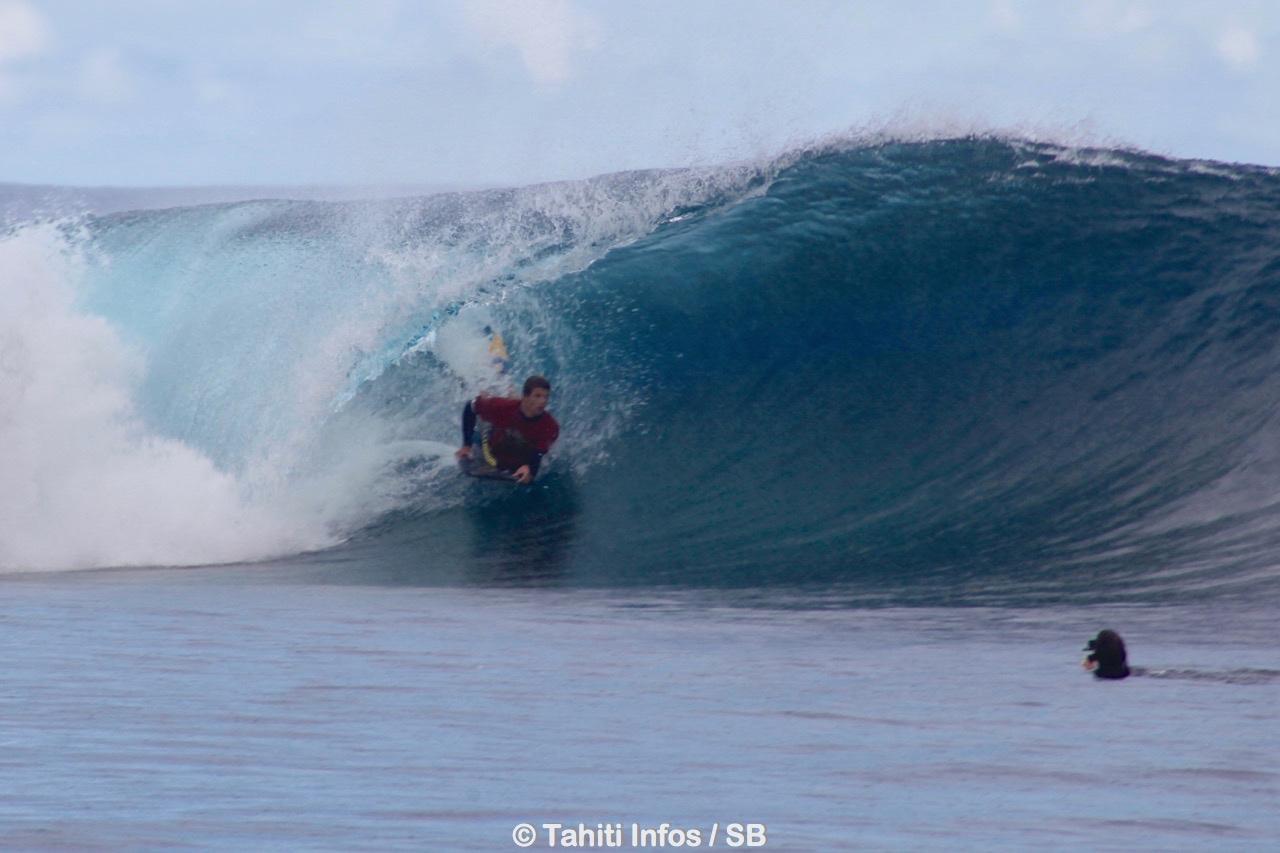 Manea Fabisch, fait partie de l'élite du bodyboard tahitien