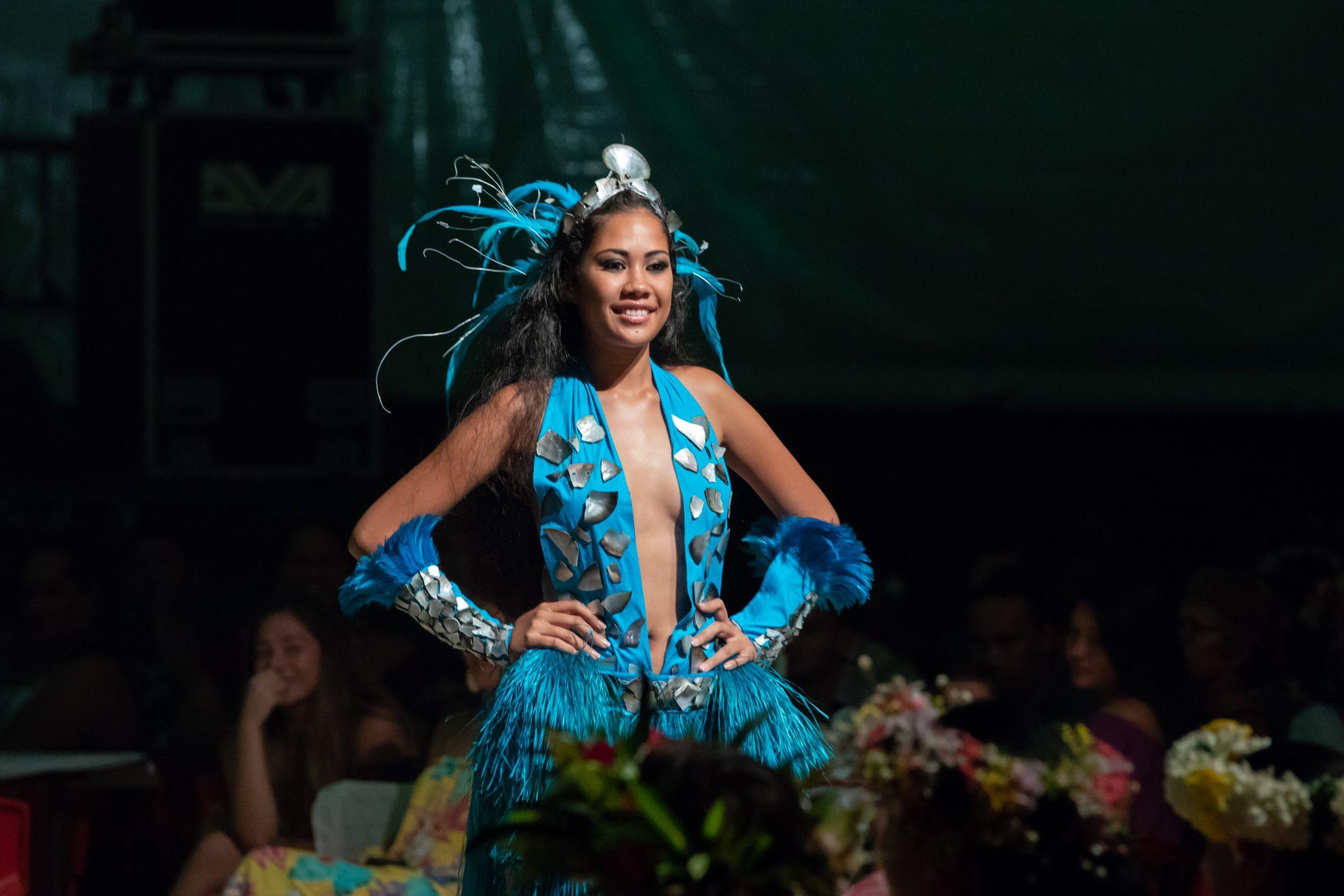 Leihani Mataihau est la nouvelle Miss Bora Bora.