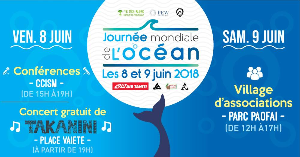 La Journée mondiale de l'océan contre la pollution plastique