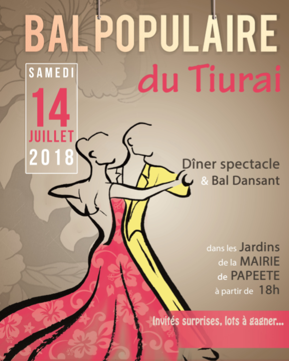 Revivez le Tahiti d'antan au bal populaire du Tiurai le 14 juillet