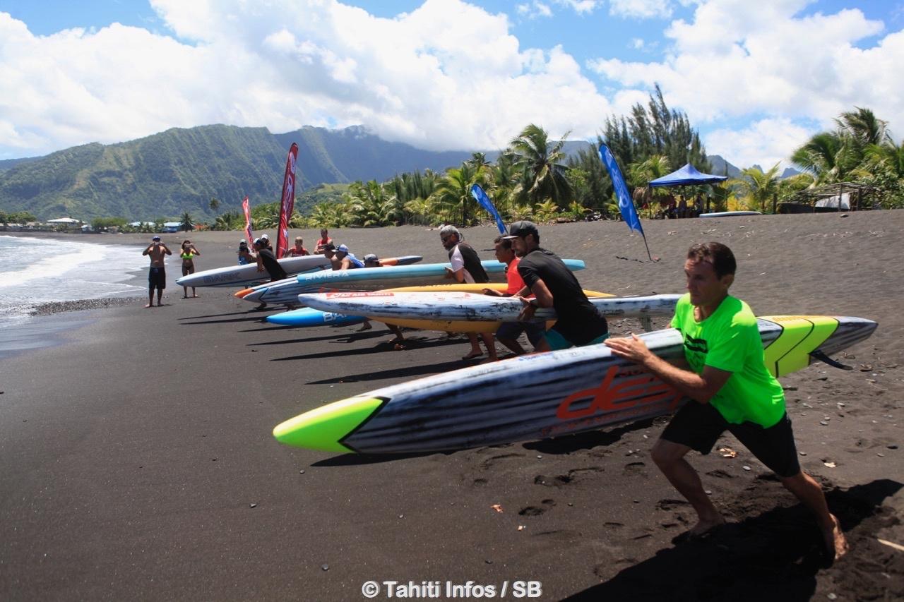 Le prone et le sauvetage côtier sportif sont également en train de se développer en Polynésie