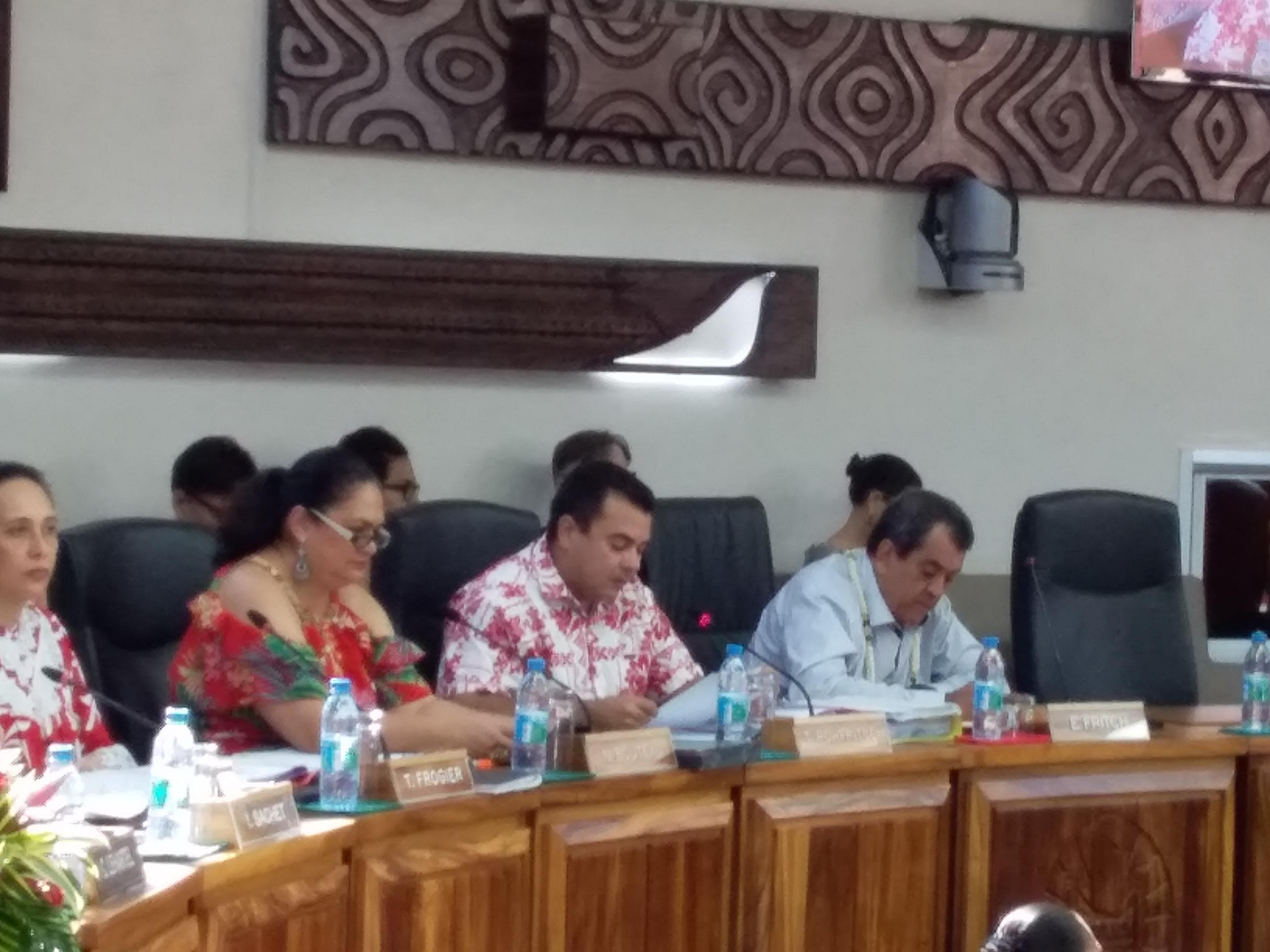 Une «dizaine de familles sont récalcitrantes à toute proposition de relogement par le Pays»a regretté Teva Rohfritsch.