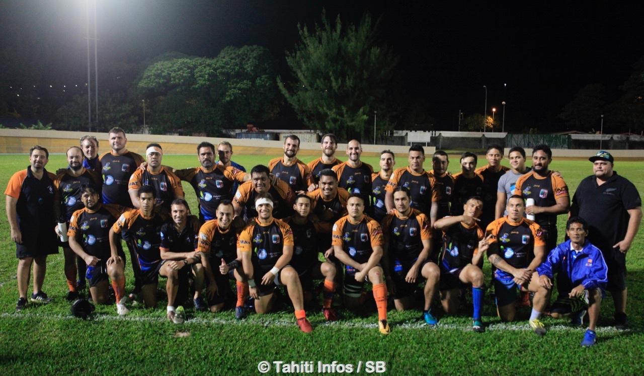 Le rugby club de Pirae a gagné sa place en finale