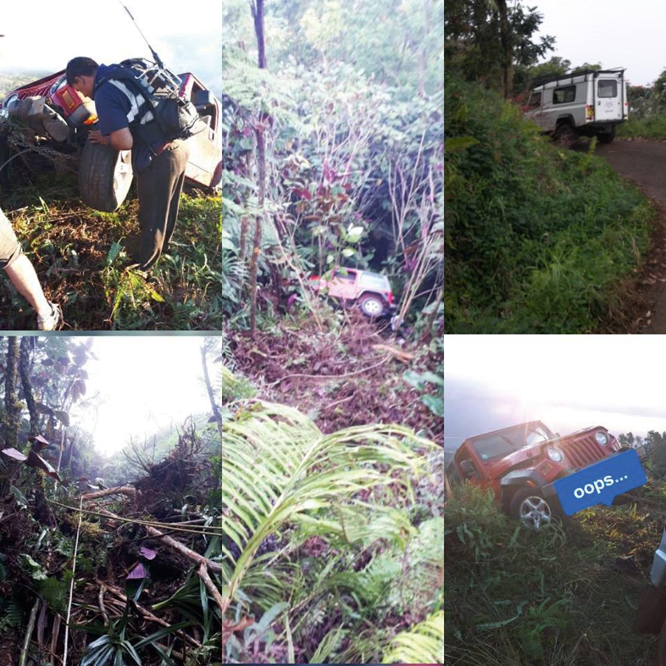 Mont Marau :  Un pique-nique se transforme en journée de sauvetage