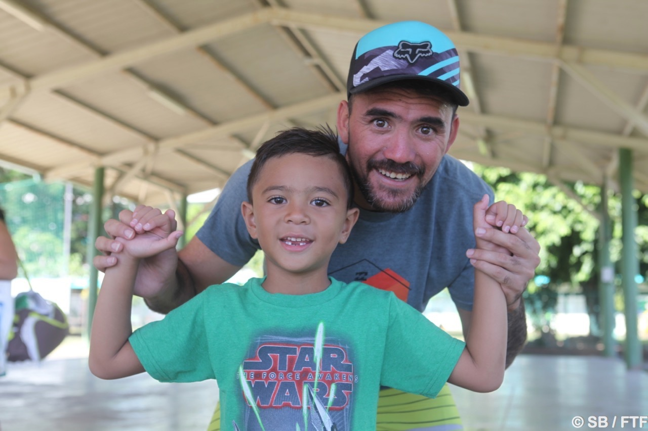 Jonathan Torohia, un des ambassadeurs du sport polynésien