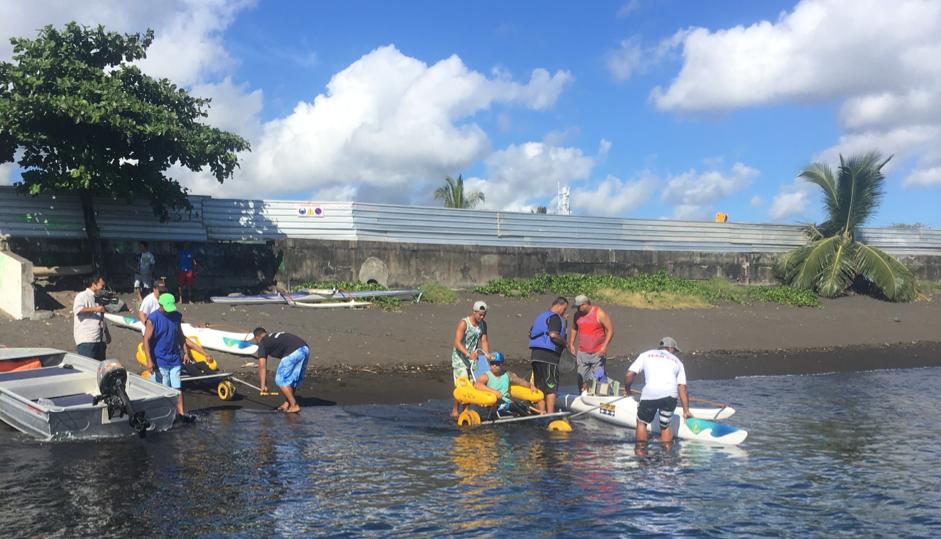 Para va'a 19 espoirs de médailles pour Tahiti