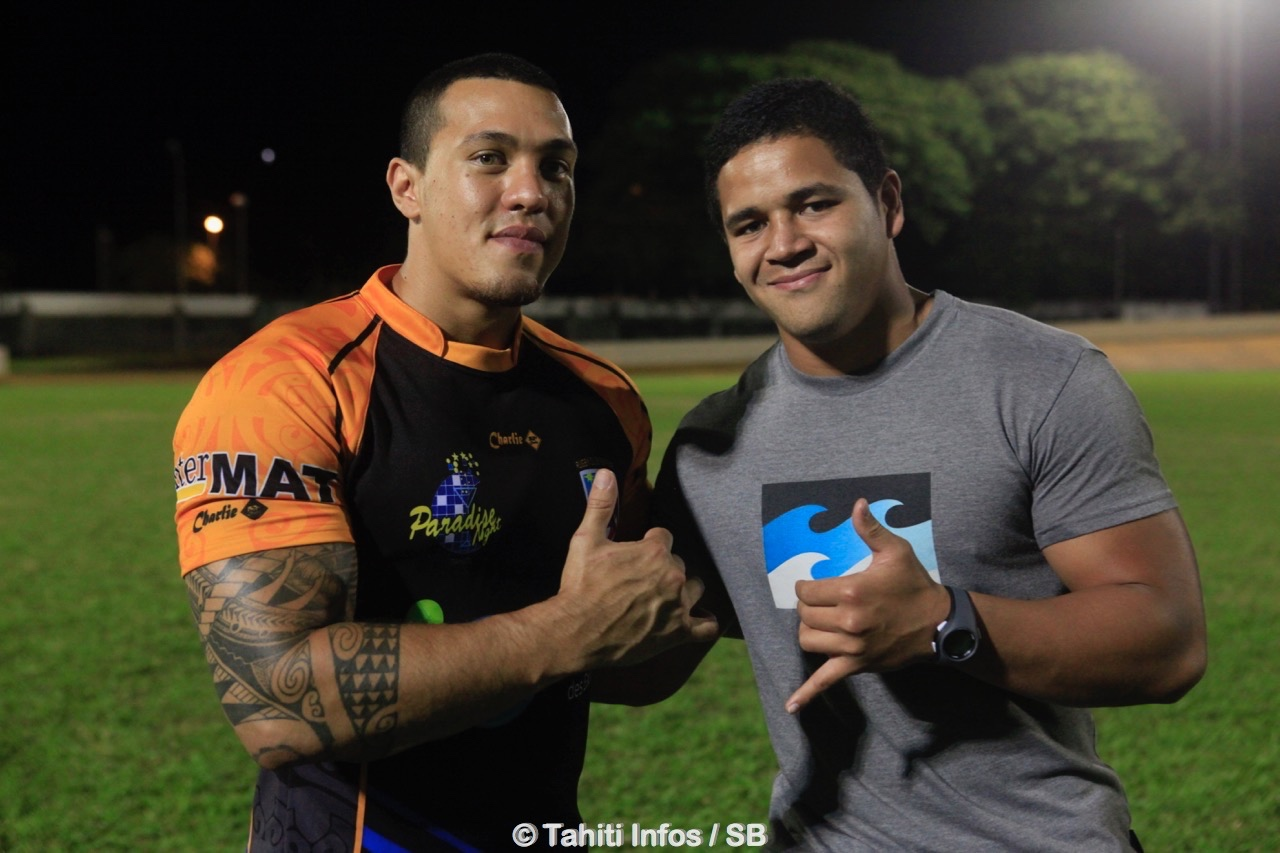 Teiva Jacquelain est devenu rugbyman professionnel. Son cousin Makalea Foliaki suit ses traces