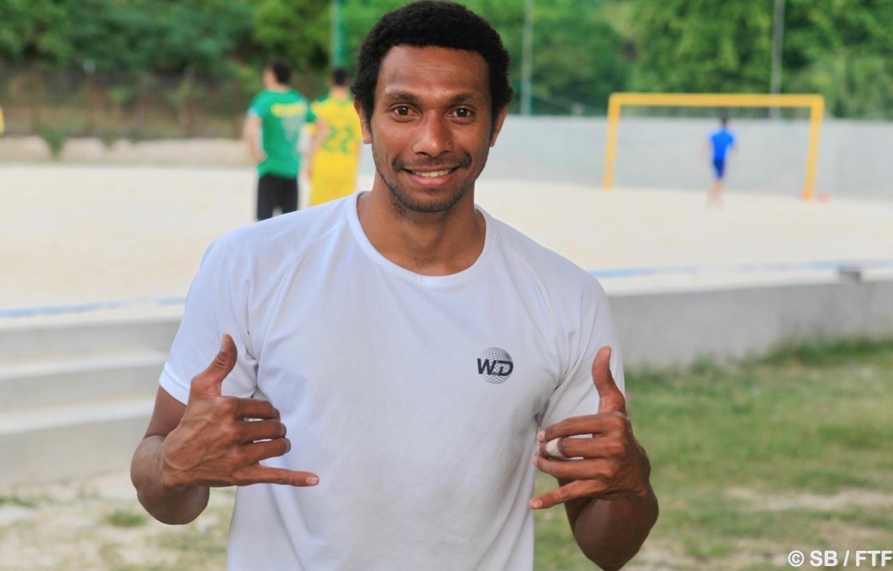 Heimano Bourebare participera au championnat de beach soccer à l'intersaison