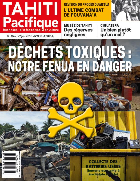 À la Une de Tahiti Pacifique, vendredi 15 juin