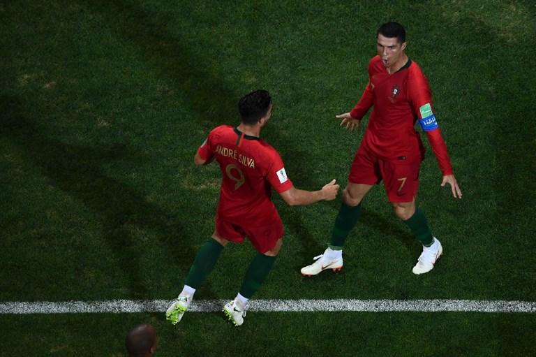 Portugal-Espagne : Diego Costa a essayé, mais il n'y a qu'un Cristiano Ronaldo