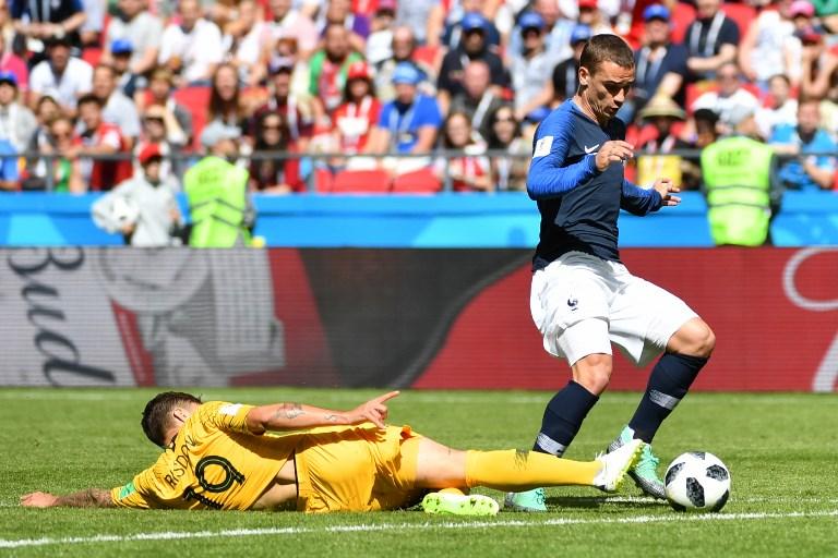 Mondial-2018 - France: la vidéo sauve le match de Griezmann