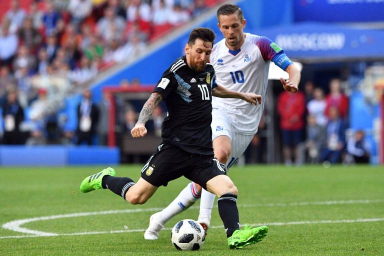 Mondial-2018 - L'Argentine tenue en échec par l'Islande, mais si, Messi!