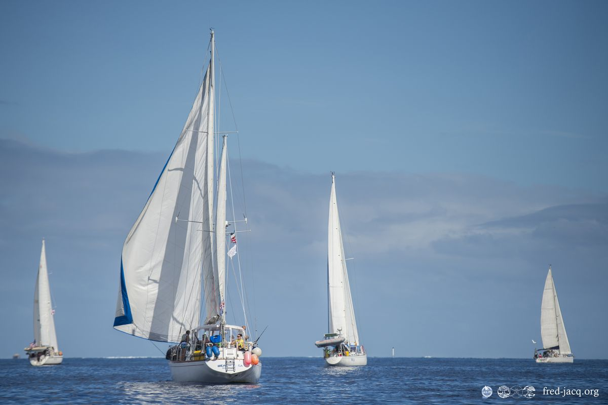 Participez à la Tahiti Moorea Sailing !