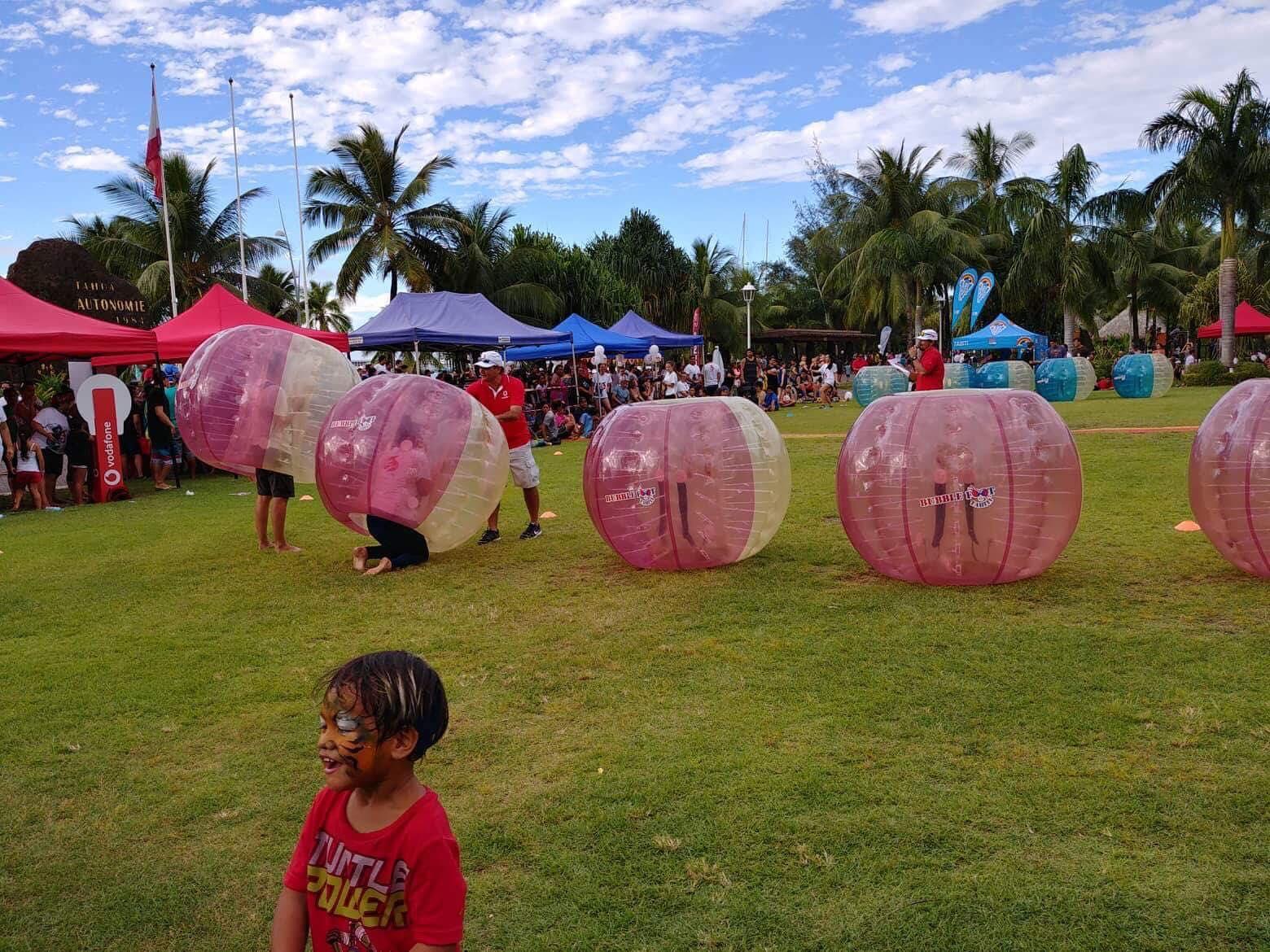 Le bublle foot, une activité ludique très appréciée