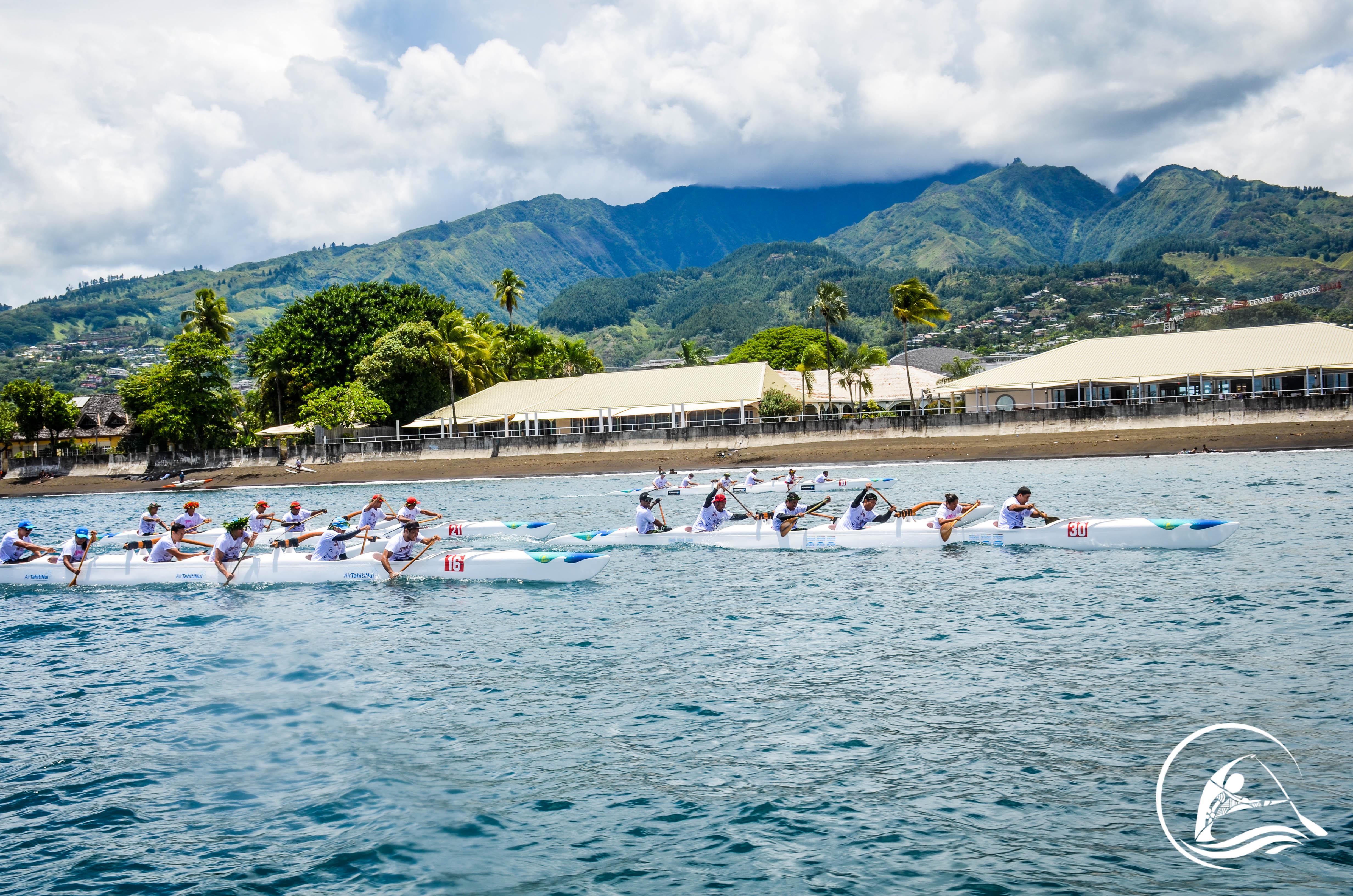 Interdiction de naviguer pendant les compétitions de Va'a dans la Baie de Taaone