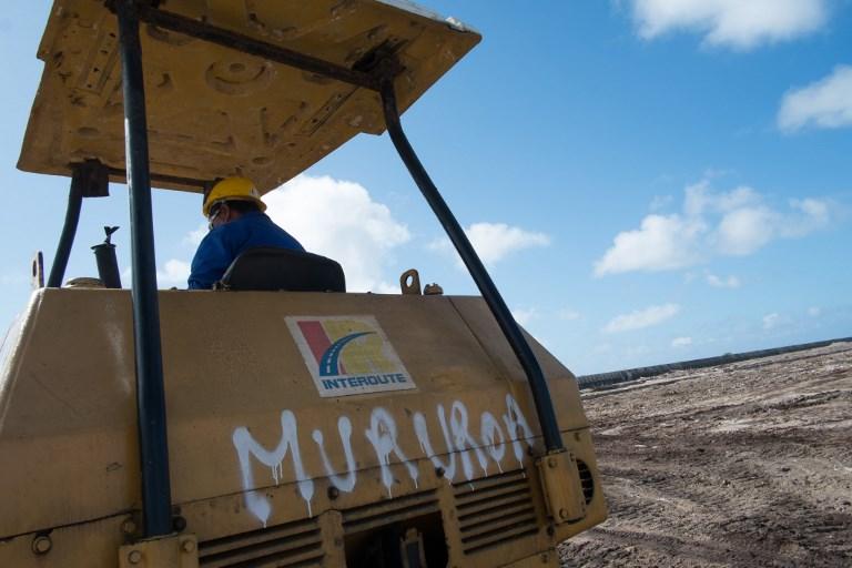 A Mururoa, un système rénové pour surveiller les sous-sols et prévenir une catastrophe