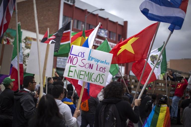 A Los Angeles, peur et panique chez les immigrés latinos
