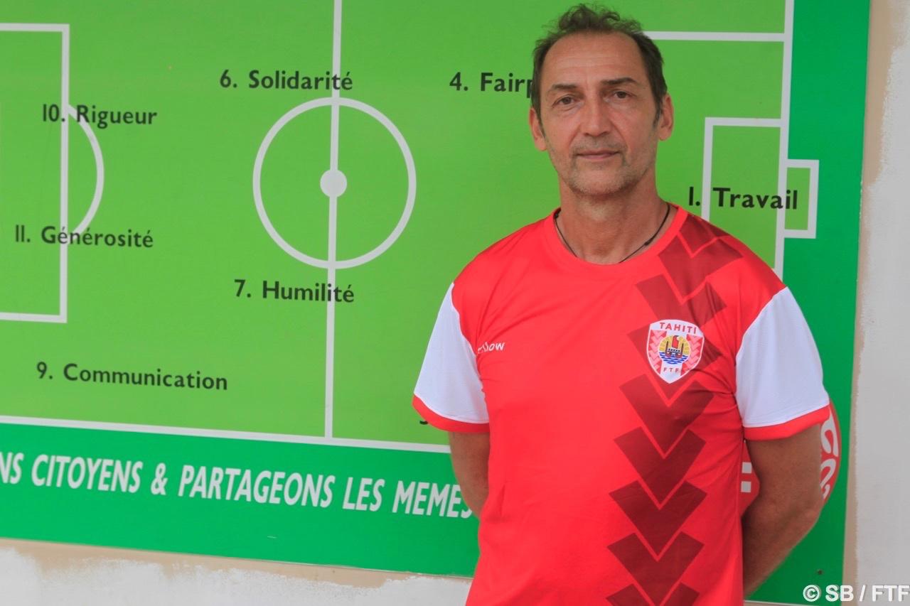 Patrice Flaccadori, directeur technique de la FTF