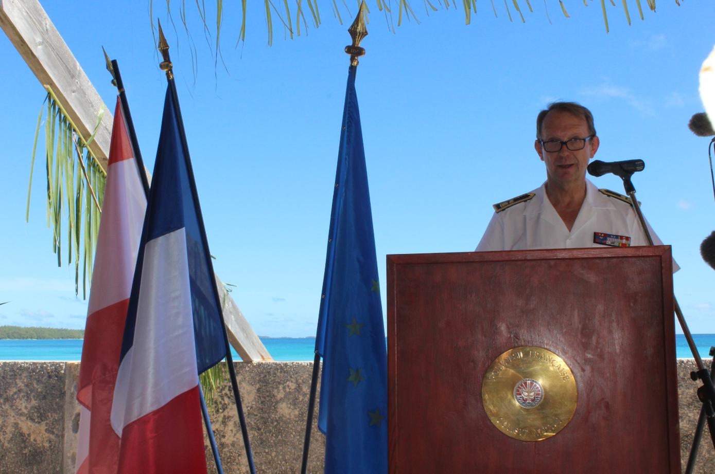 Le Contrôleur général des Armées, Paul Fouilland.