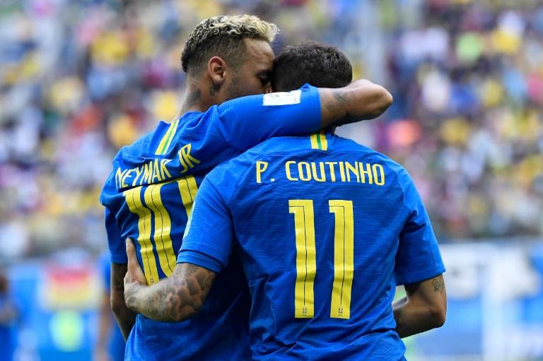 Le Brésil élimine le Costa Rica (2-0) et s'approche des 8es de finale