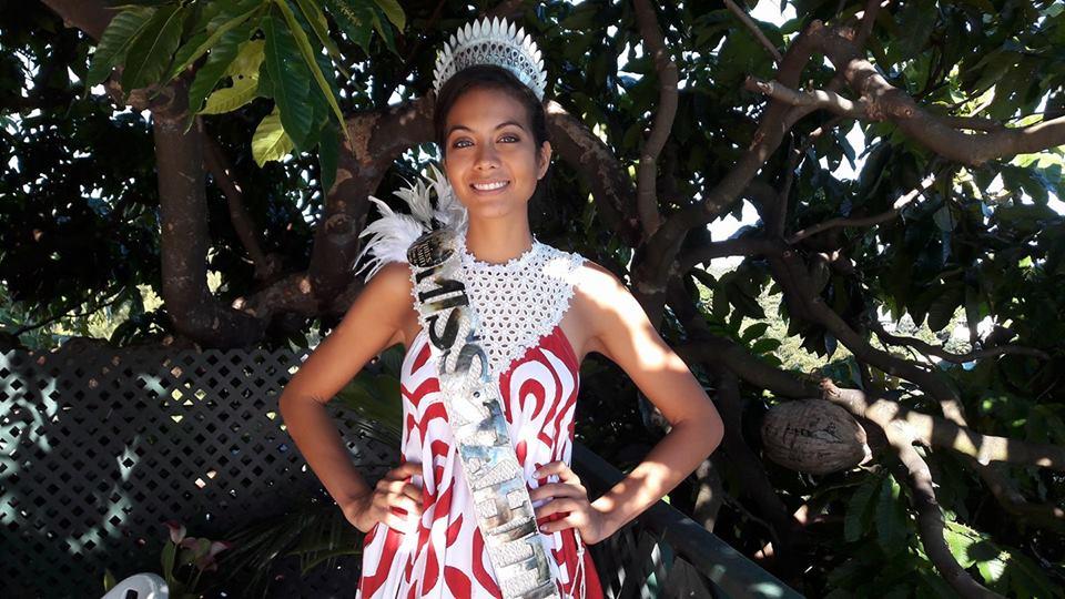 """Interview : Vaimalama Chaves, Miss Tahiti 2018, """" Sans vous, je n'aurais pas pu réaliser mon rêve. """""""