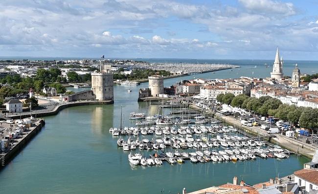 Le port historique de La Rochelle, une ville qui a hébergé le temps d'une semaine de nombreux débats sur la littérature polynésienne (photo : La Rochelle Tourisme)
