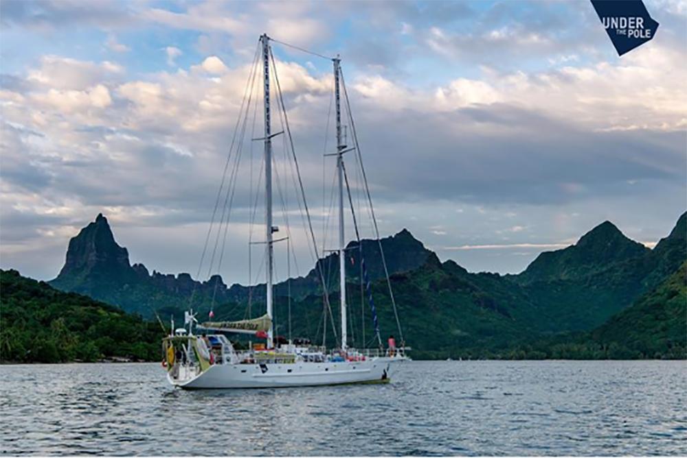 L'expédition Under the pole a posé l'ancre en Polynésie