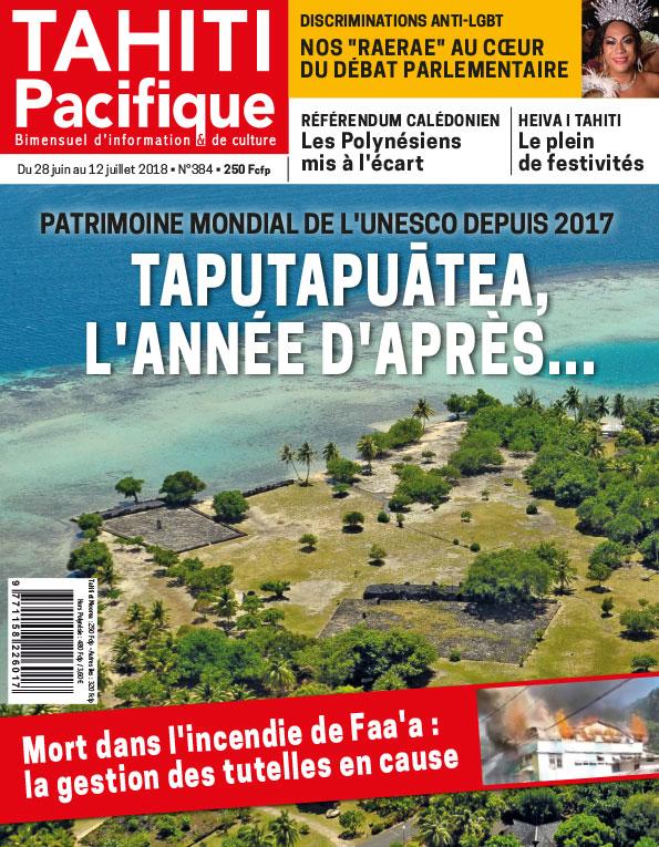 À la Une de Tahiti Pacifique ce jeudi 28 juin