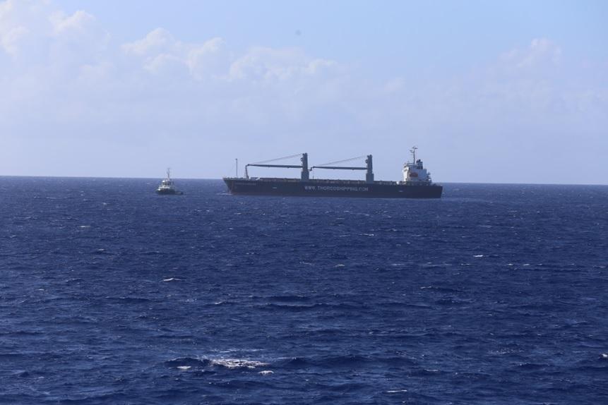 Il passera à la hauteur de l'atoll de Makemo ce vendredi 29 juin 2018. Crédit Haut-commissariat de la République.