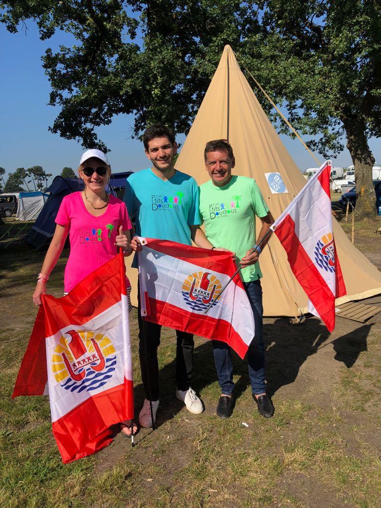 Une équipe de Tahiti aux 24 heures du Mans en rollers