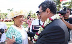 Crédit Présidence de la Polynésie française