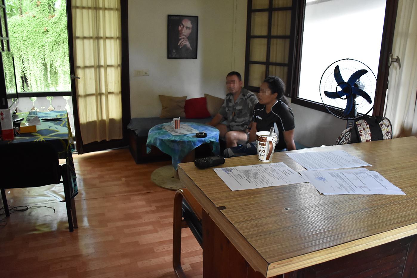 Taunoa : le couple se réveille face à un cambrioleur cagoulé