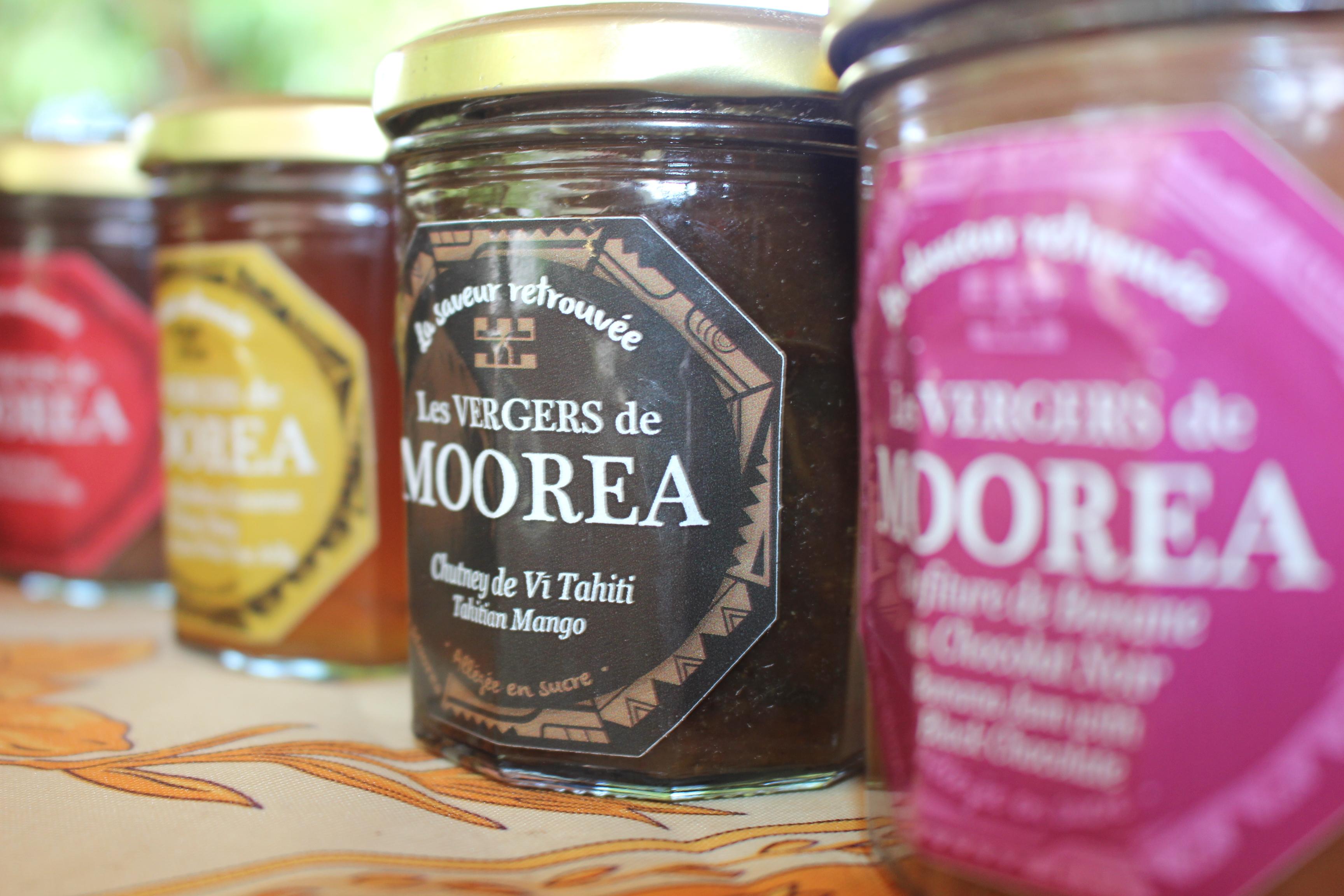 Les Vergers de Moorea où les goûts retrouvés