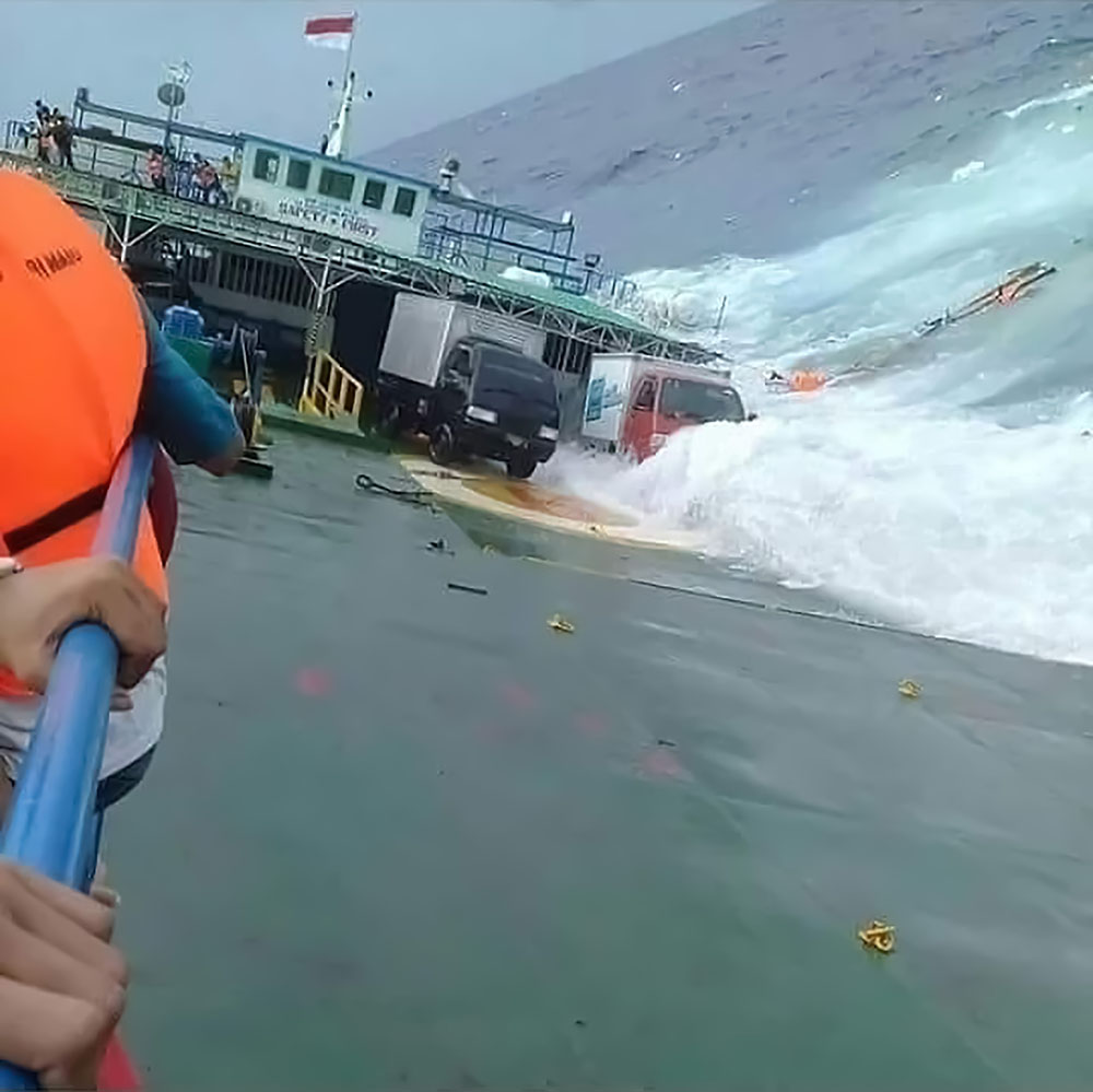 Indonésie: nouveau naufrage d'un ferry, 16 morts