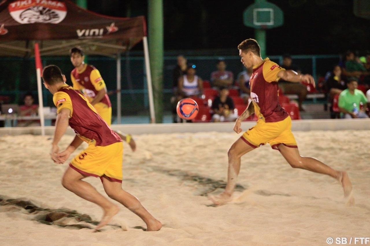 Le Tiki Toa Tearii Labaste a marqué de superbes buts samedi soir