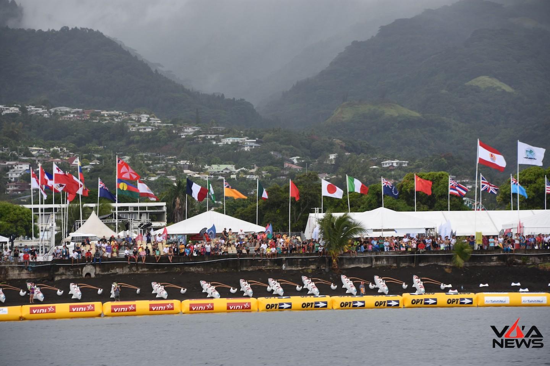 Le Monde entier se prépare à venir ramer à Tahiti