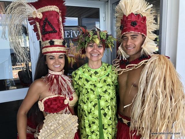 """Perle Renvoyé et Lewis Temauri représenteront """"Tama nō Aimeho Nui"""" au concours de meilleurs danseurs."""