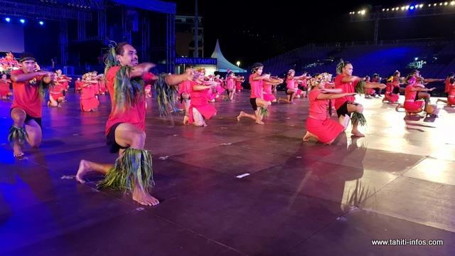 Pour représenter leur thème sur la scène de To'atā, Tamari'i To'ahotu Nui a préparé quatre tableaux.