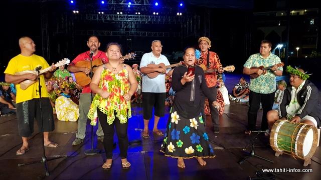 Tamarii Mahina espère séduire les membres du jury grâce aux différentes mélodies de leurs chants.