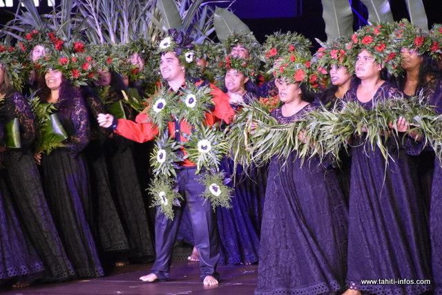 "Heiva i Tahiti : la prestation de ""Reo Papara"" en photos"