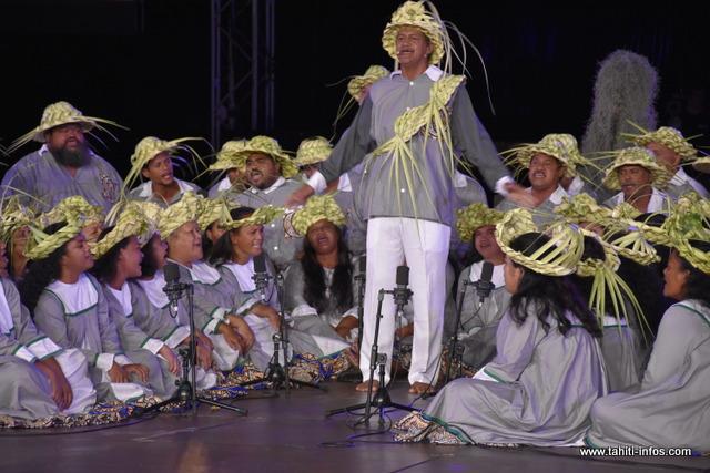 Heiva i Tahiti : la prestation de Pupu Hīmene Tamari'i Vaira'o en photos