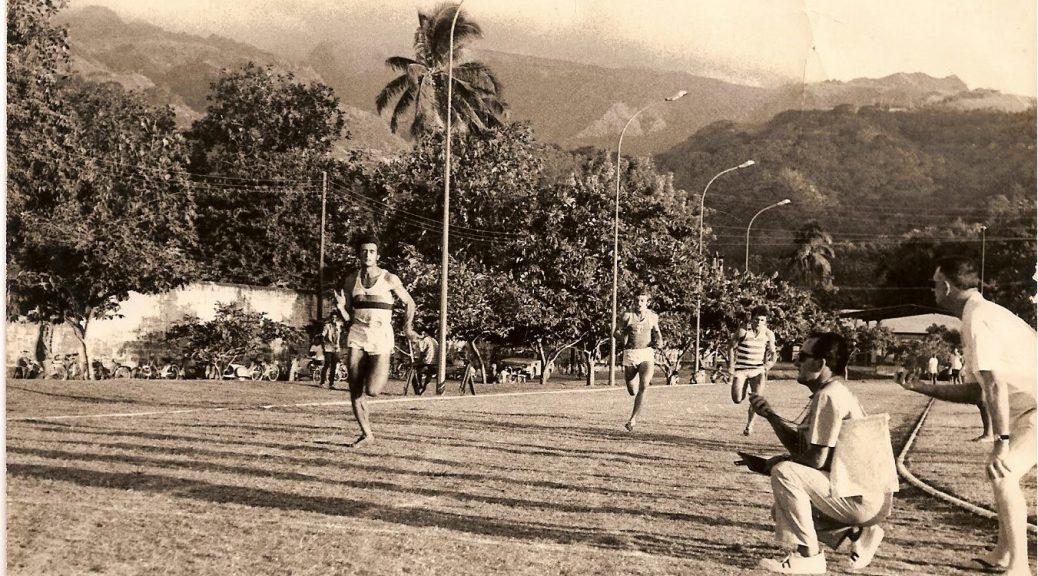 Jean Bourne, roi du sprint tahitien